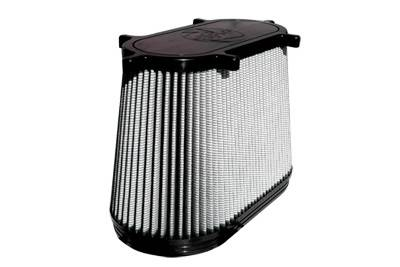 Air Intakes - Oem Air Intakes - aFe - Ford F350 aFe MagnumFlow Pro-Dry-S OE Replacement Air Filter - 11-10107
