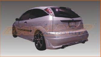 Focus 4Dr - Rear Bumper - Bayspeed. - Ford Focus Bayspeed Octane R34 Style Rear Bumper - 3087SR