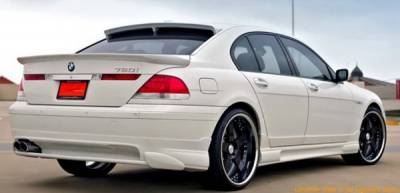 7 Series - Rear Add On - Bayspeed. - BMW 7 Series Bay Speed HM Style Rear Under Diffuser - 3265HM-RA
