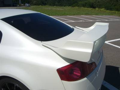 Spoilers - Custom Wing - Bayspeed. - Infiniti G35 2DR Bay Speed VS Trunk Wing - 3502VS-W