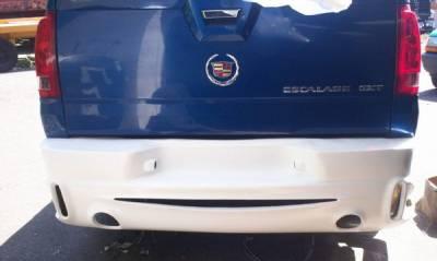 Escalade - Rear Bumper - Bayspeed. - Cadillac Escalade Bay Speed SAR Style Rear Bumper - 3667SAR