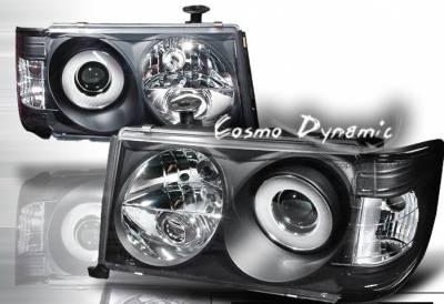 Headlights & Tail Lights - Headlights - Custom - Black Pro Headlights - 300E 400E
