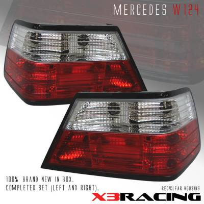 Headlights & Tail Lights - Tail Lights - Custom - Red Clear Taillights - 300E 400E