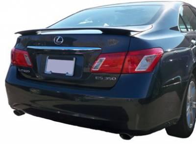 Spoilers - Custom Wing - California Dream - Lexus ES California Dream Custom Style Spoiler - Unpainted - 432N