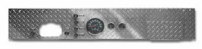 Car Interior - Dash Covers - Warrior - Jeep CJ7 Warrior Dash Panel With Radio Cutout