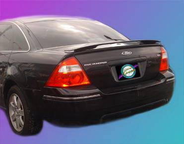 Spoilers - Custom Wing - California Dream - Mercury Sable California Dream Custom Style Spoiler - Unpainted - 432N