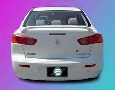 Spoilers - Custom Wing - California Dream - Mitsubishi Lancer California Dream Custom Style Spoiler - Unpainted - 442N