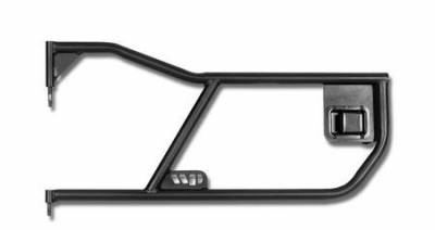 Wrangler - Doors - Warrior - Jeep Wrangler Warrior Front Tube Door with Paddle - 90773