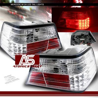 Headlights & Tail Lights - Led Tail Lights - Custom - Chrome LED Taillights - 300E 400E 500E