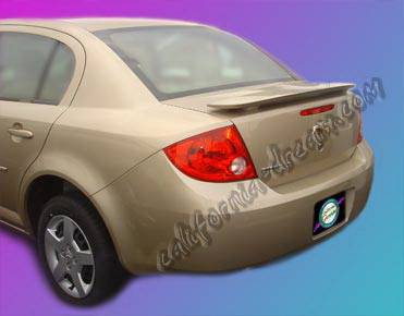 Spoilers - Custom Wing - California Dream - Chevrolet Aveo California Dream Custom Style Spoiler - Unpainted - 508N