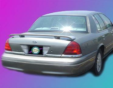 Spoilers - Custom Wing - California Dream - Mercury Grand Marquis California Dream Custom Style Spoiler - Unpainted - 517N