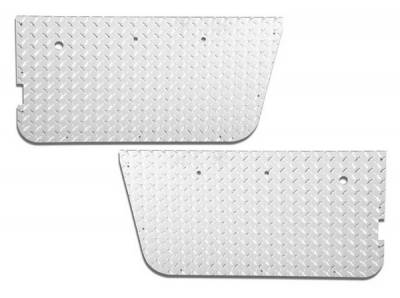 Wrangler - Doors - Warrior - Jeep Wrangler Warrior Full Door Panel Insert