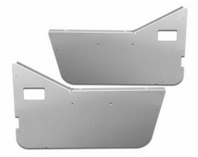 Wrangler - Doors - Warrior - Jeep Wrangler Warrior Half Door Panel Insert