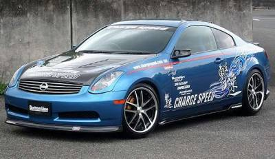 G35 2Dr - Body Kits - Chargespeed - Infiniti G35 2DR Chargespeed Bottom Line Full Lip Kit - 5PC