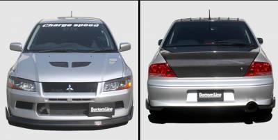 Lancer - Body Kits - Chargespeed - Mitsubishi Lancer Chargespeed Bottom Line Full Lip Kit - 5PC