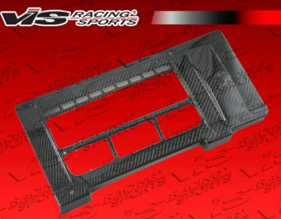Accessories - Engine Dress Up - VIS Racing - Mini Cooper VIS Racing OEM Style Carbon Fiber Engine Cover - 02BMMCS2DOE-151C