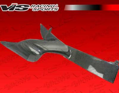 Accessories - Engine Dress Up - VIS Racing - Toyota MR2 VIS Racing Ballistix Carbon Fiber Engine Scoop - Right - 90TYMR22DBX-044RC