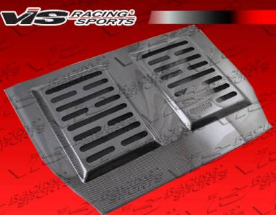 Accessories - Engine Dress Up - VIS Racing - Toyota MR2 VIS Racing OEM Carbon Fiber Engine Lid - 90TYMR22DOE-021C