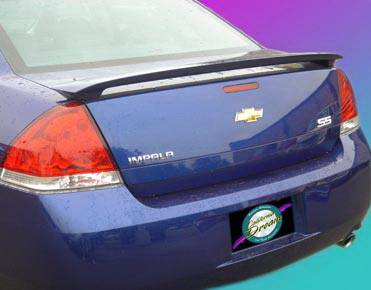 California Dream - Chevrolet Impala California Dream Custom Style Spoiler - Unpainted - 603N