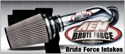 Air Intakes - Oem Air Intakes - AEM - Ford Excursion AEM Brute Force Intake System - 21-8115