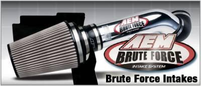 Air Intakes - Oem Air Intakes - AEM - Ford F150 AEM Brute Force Intake System - 21-8117