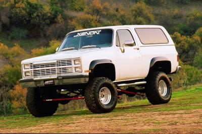 C/K Truck - Fender Flares - Xenon - Chevrolet CK Truck Xenon Fender Flare Kit - 8400