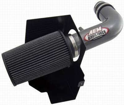 Air Intakes - Oem Air Intakes - AEM - Jeep Wrangler AEM Brute Force Intake System - 21-8314