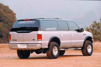 Excursion - Fender Flares - Xenon - Ford Excursion Xenon Fender Flare Kit - 8640