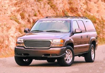 Suburban - Fender Flares - Xenon - Chevrolet Suburban Xenon Fender Flare Kit - 8670