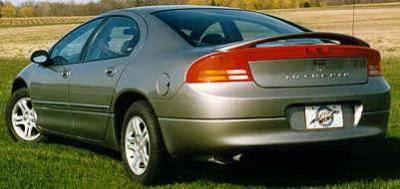 Spoilers - Custom Wing - California Dream - Dodge Intrepid California Dream Custom Style Spoiler - Unpainted - 73N
