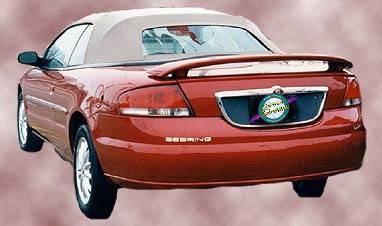Spoilers - Custom Wing - California Dream - Chrysler Sebring California Dream Custom Style Spoiler - Unpainted - 76L2