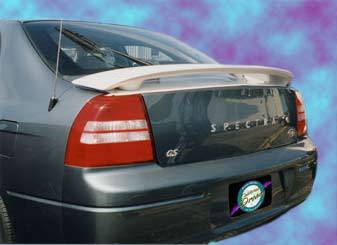 Spoilers - Custom Wing - California Dream - Kia Spectra California Dream Custom Style Spoiler - Unpainted - 76L2
