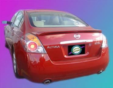 Spoilers - Custom Wing - California Dream - Nissan Altima California Dream OE Style Spoiler with Light - Unpainted - 772L