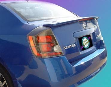 Spoilers - Custom Wing - California Dream - Nissan Sentra California Dream Spoiler with Light - Unpainted - 776L