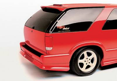 Body Kits - Fender Flares - Wings West - Chevrolet Blazer Wings West Custom Style Right Quarter Flare - 890015