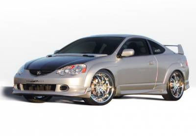 RSX - Fender Flares - Wings West - Acura RSX Wings West Extreme Fender Flare Set - 7PC - 890650