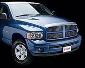 Accessories - Hood Protectors - AVS - Dodge Caravan AVS Bugflector II Hood Shield - Clear - 25037-C