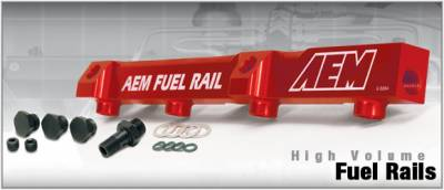 Performance Parts - Fuel System - AEM - AEM High Volume Fuel Rail - 25-100