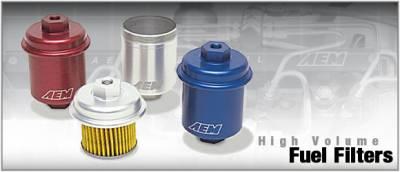 Performance Parts - Fuel System - AEM - AEM High Volume Fuel Filter - 25-200