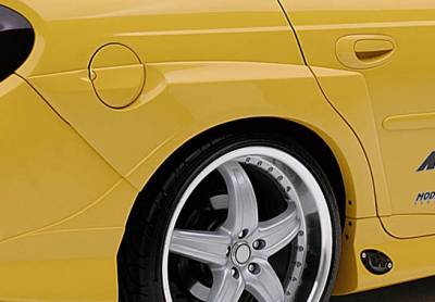Neon 2Dr - Fender Flares - VIS Racing - Dodge Neon VIS Racing Gas Door Extreme Flare - 890808
