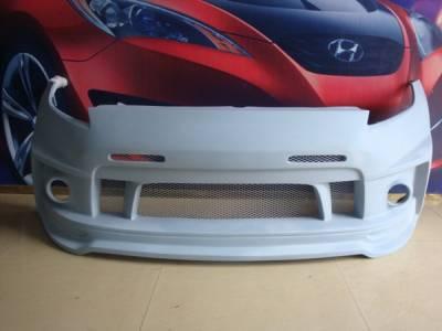 370Z - Front Bumper - Bayspeed. - Nissan 370Z Bay Speed BSD Front Bumper - 8370BSD