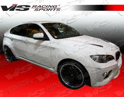 X6 - Fender Flares - VIS Racing - BMW X6 VIS Racing A Tech Fender Flares - 08BME714DATH-076P