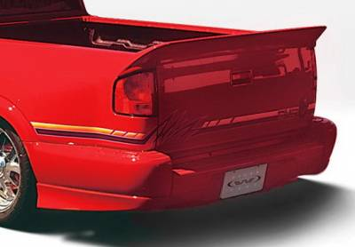 S10 - Fender Flares - Wings West - Chevrolet S10 Wings West Custom Style Quarter Flare - Left Rear - 890153L
