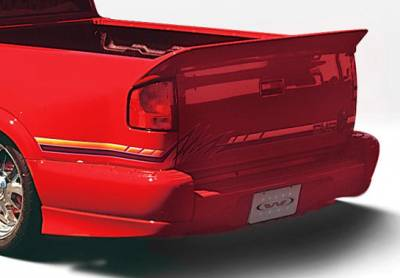 S10 - Fender Flares - VIS Racing - Chevrolet S10 VIS Racing Custom Style Left Rear Quarter Flare - 890153L