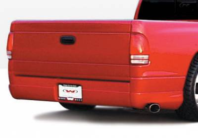 Dakota - Fender Flares - Wings West - Dodge Dakota Wings West W-Type Quarter Flare - Left Rear - 890418L