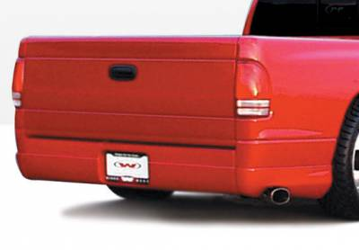 Dakota - Fender Flares - VIS Racing - Dodge Dakota VIS Racing W-Type Left Rear Quarter Flare - 890418L