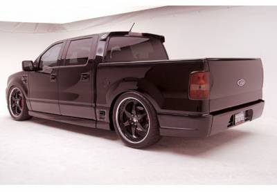 F150 - Fender Flares - Wings West - Ford F150 Wings West Revolver Quarter Flare - Left Rear - 890834L
