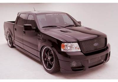 F150 - Fender Flares - VIS Racing - Ford F150 VIS Racing W-Type Right Rear Quarter Flare - 890834R