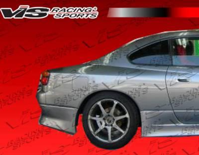 S13 - Fender Flares - VIS Racing - Nissan S13 VIS Racing Drift Rear Fender Flares - 89NSS132DDFT-006