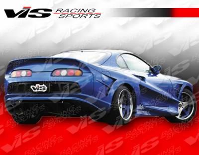 Supra - Fender Flares - VIS Racing. - Toyota Supra VIS Racing Alfa Widebody Rear Fender Flares - 93TYSUP2DALFWB-006